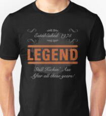 1975 Legend Kicking Ass Unisex T-Shirt