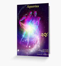 Aquarius Universalis Greeting Card