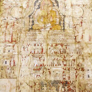 Vintage Ceylon Art Series - Tapestry by darkydoors