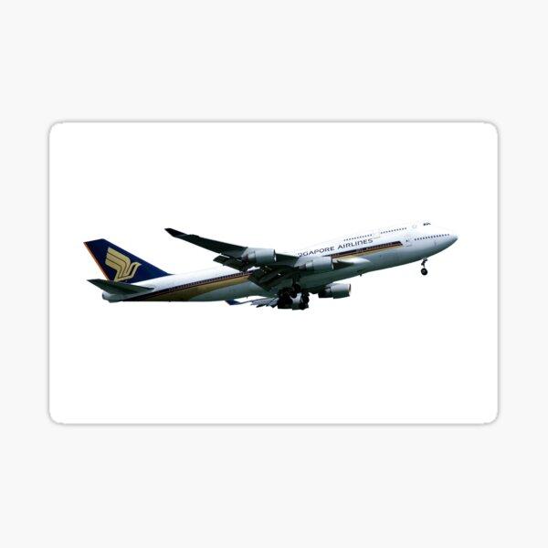 Singapore Airlines Boeing 747 Sticker