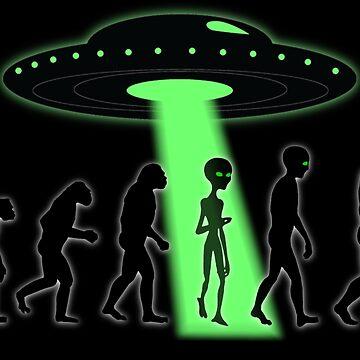 ALIEN EVOLUTION by PapaSquatch