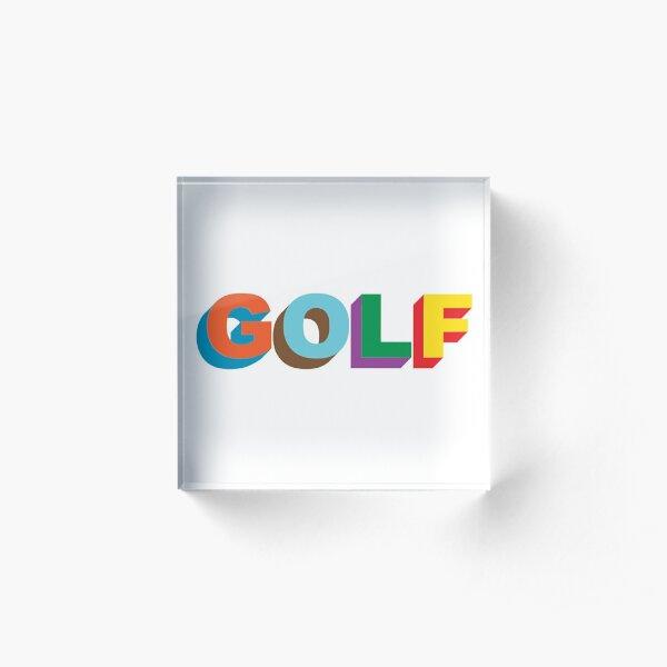 golf wang Acrylic Block