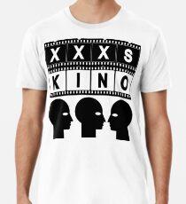 CINEMA HEAD FILMSTRIP Men's Premium T-Shirt