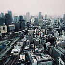 Rainy Osaka - Osaka, Japan by IkuTree