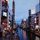 Dotonbori Crowds - Osaka, Japan by IkuTree