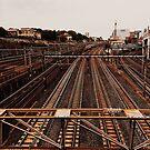 Tokyo Rail Tracks - Tokyo, Japan by IkuTree