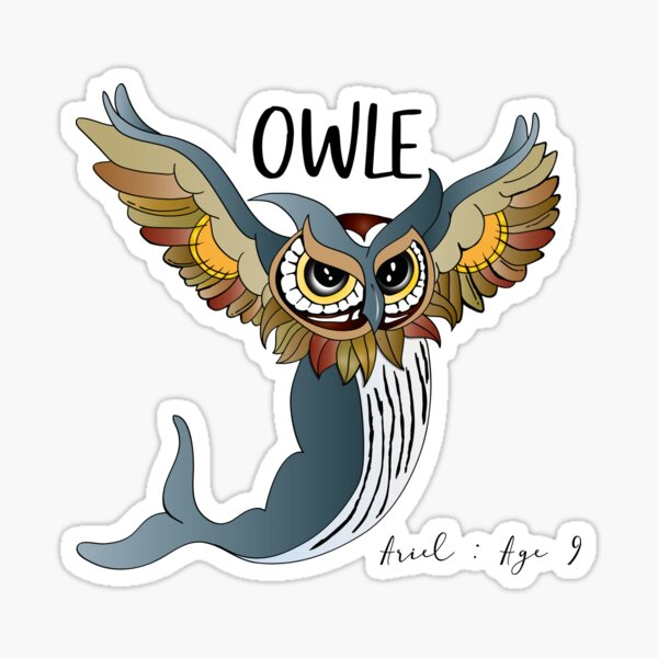 This is OWLE Sticker