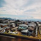 View from Shinkansen Bullet Train - Japan by IkuTree