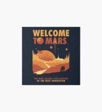Willkommen auf dem Mars Galeriedruck