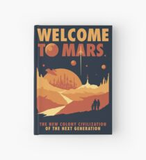 Welcome to Mars Hardcover Journal