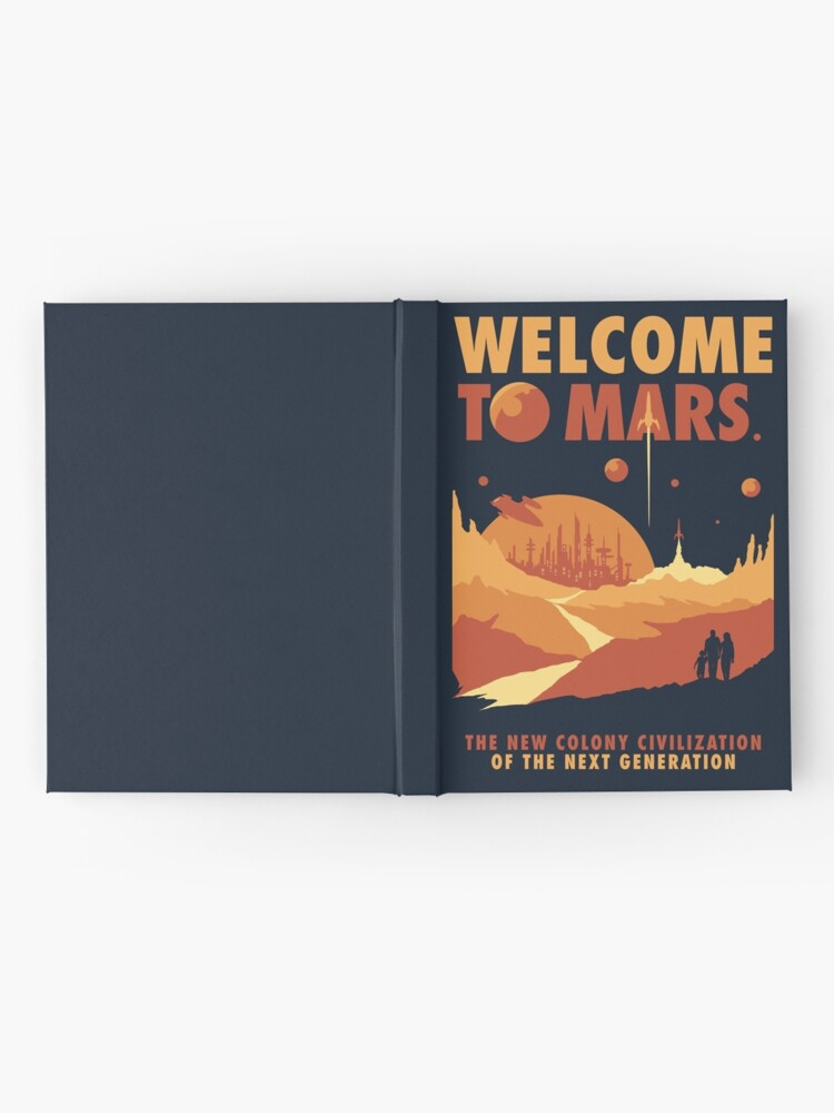 Alternate view of Welcome to Mars Hardcover Journal