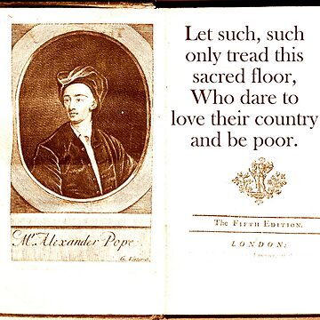 Let Such Such Only Tread - Alexander Pope by CrankyOldDude