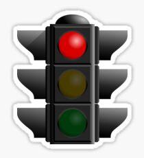 Traffic Lights Sign Sticker