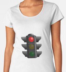 Traffic Lights Sign Women's Premium T-Shirt