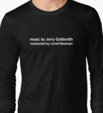 Alien | music by Jerry Goldsmith, conducted by Lionel Newman Long Sleeve T-Shirt