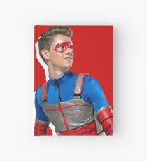Kid Danger Action - Red Hardcover Journal