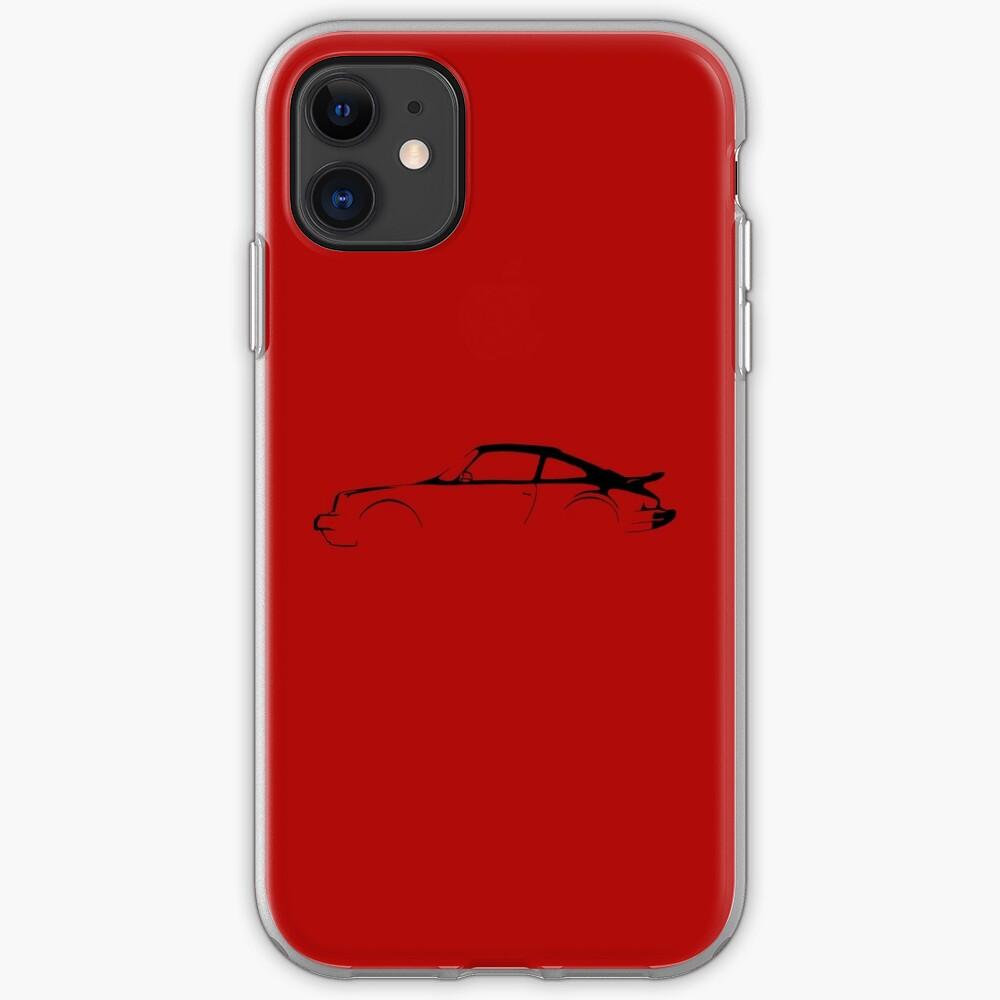 Porsche 911 Silhouette  iPhone Case & Cover