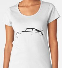 Porsche 911 Silhouette  Women's Premium T-Shirt