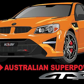 HSV GTSR - SUPERCHARGED EXHILARATION