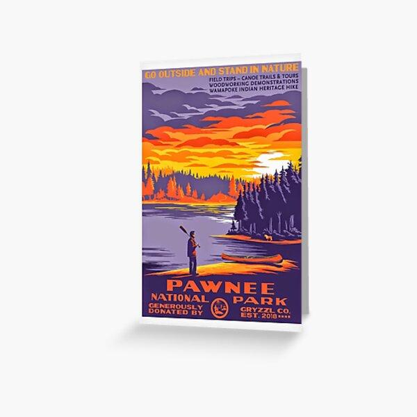 Pawnee National Park Greeting Card