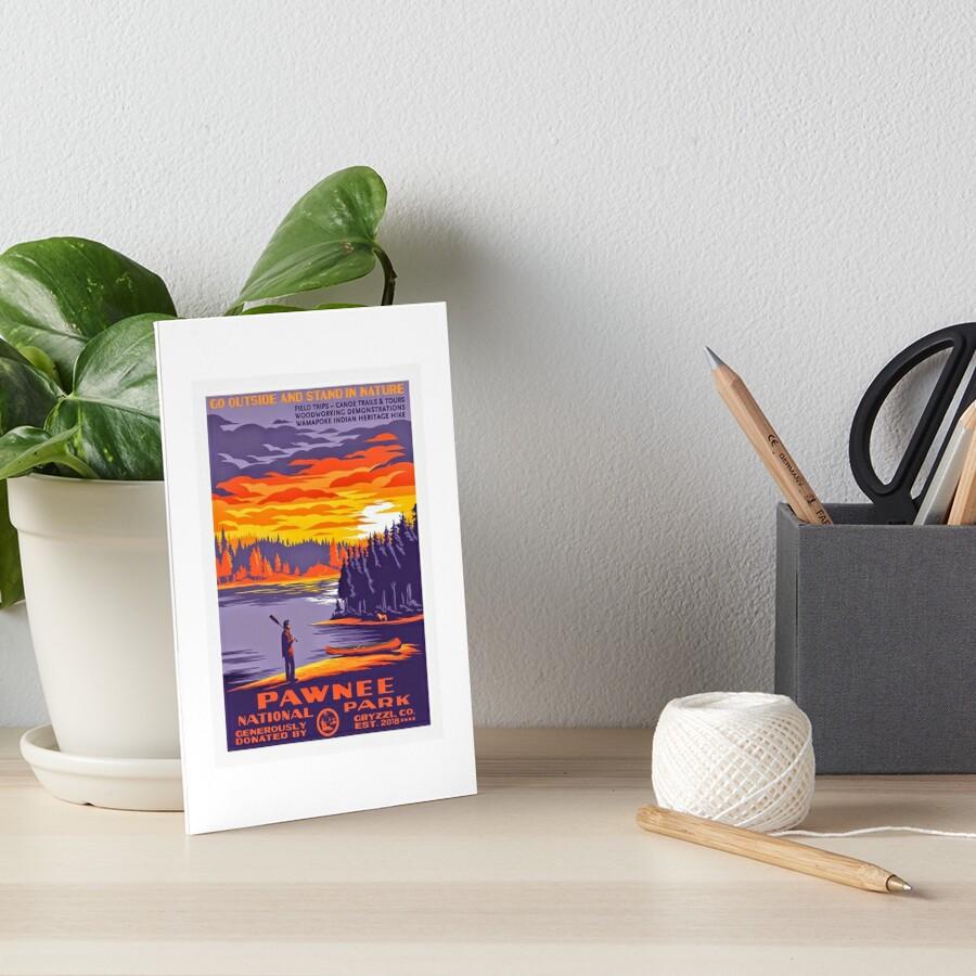 Pawnee National Park Art Board Print