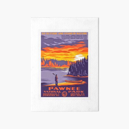 Pawnee National Park Art Board Print