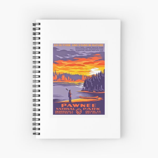 Pawnee National Park Spiral Notebook