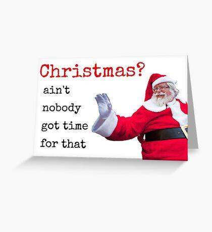 Santa grosera, tarjeta de Navidad, tarjeta de Navidad, tarjetas de Navidad divertidas, Bad Santa, citas, regalos, tarjetas de felicitación Meme Tarjeta de felicitación