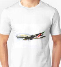 Emirates Airline A380 Art T-Shirt