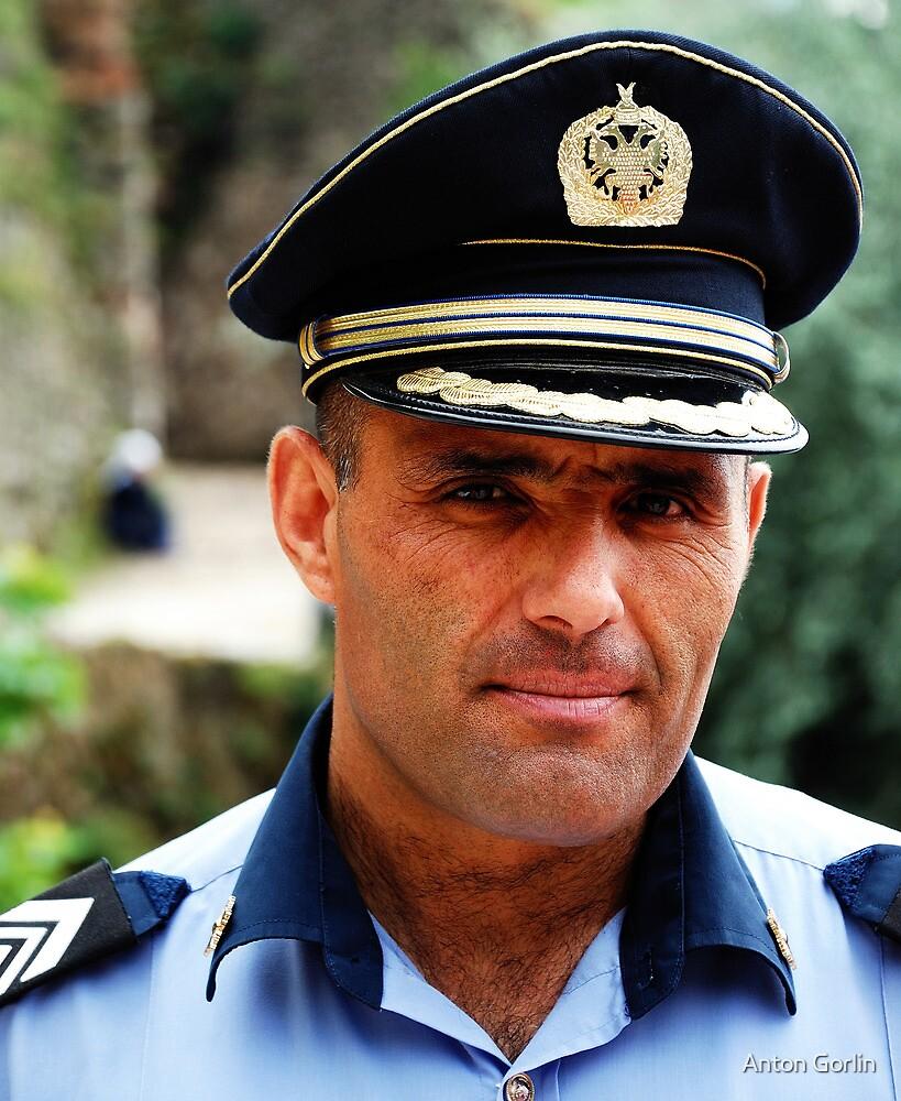 Policeman by Anton Gorlin