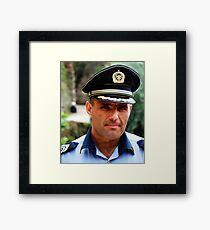 Policeman Framed Print