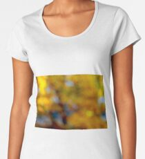 From  my window I can see autumn . Anno Domini 2018. ©Dr.Andrzej Goszcz. Women's Premium T-Shirt