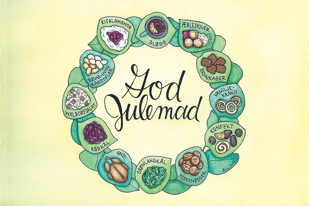 God Julemad   Good Christmas Food by Gina Lorubbio