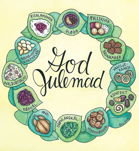 God Julemad | Good Christmas Food by Gina Lorubbio