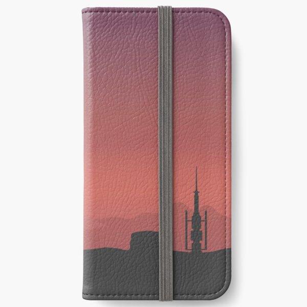 Purple Land iPhone Wallet