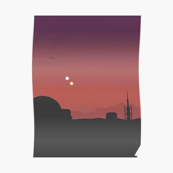 Purple Land Poster