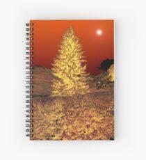 RED NIGHT Spiral Notebook
