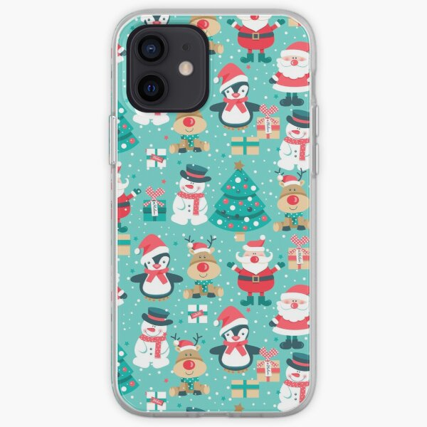 Netter WeihnachtsiPhone Fall, festlicher iPhone Fall iPhone Flexible Hülle