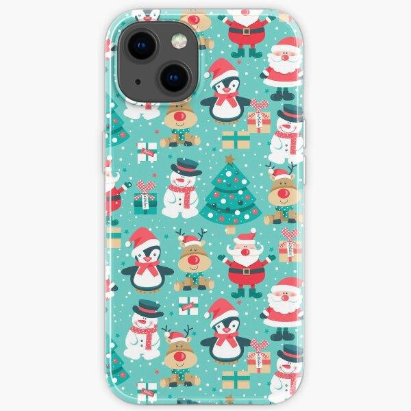 Cute Christmas iPhone Case, Festive iPhone Case iPhone Soft Case