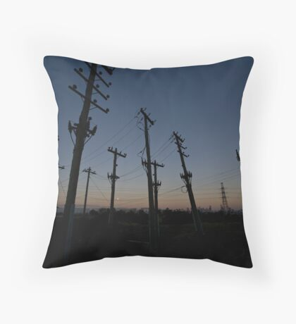 Crooked  Throw Pillow