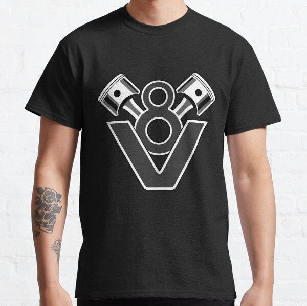 V8 Engine Piston Design Classic T-Shirt