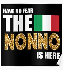 THE NONNO IS HERE Poster