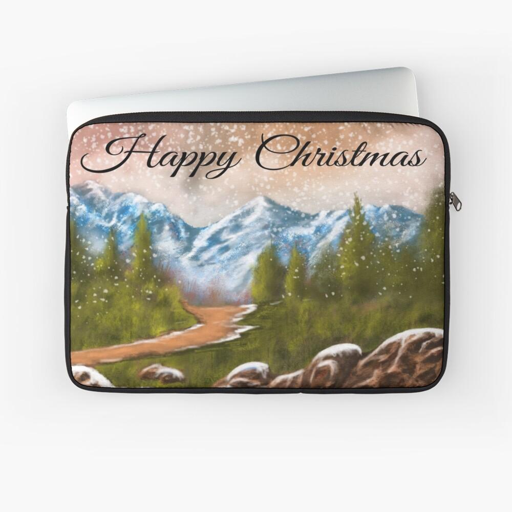 Weihnachtskarten Laptoptasche