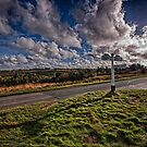 Road At Gills Lap by Dave Godden