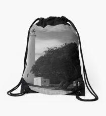 Ocracoke Lighthouse Drawstring Bag