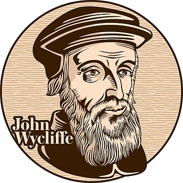 John Wycliffe (1320 – 1384) was an English scholastic philosopher, theologian, Biblical translator, reformer by biblebox