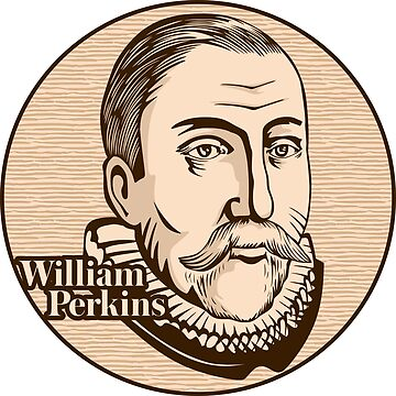 William Perkins (1558 – 1602) was an influential English cleric and Cambridge theologian, and also one of the foremost leaders of the Puritan movement in the Church of England. Christian figure. by biblebox