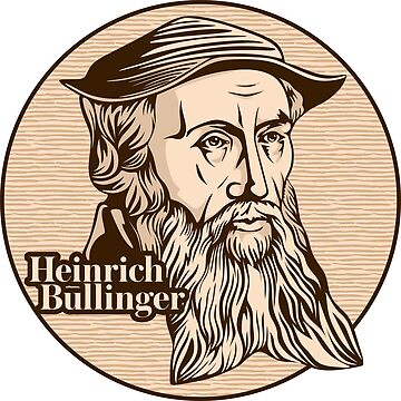 Heinrich Bullinger (1504 – 1575) was a Swiss reformer. He was one of the most influential theologians of the Protestant Reformation in the 16th century. Christian figure. by biblebox