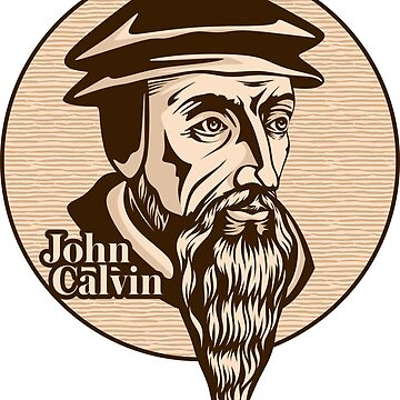 John Calvin (1509 – 1564) was a French theologian, pastor and reformer in Geneva during the Protestant Reformation. Christian figure. by biblebox
