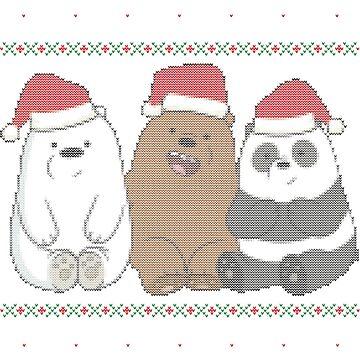 Christmas bears by Summermint